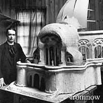 シュタイナー建築/1'st Goetheanum模型