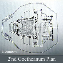 シュタイナー建築/2'nd Goetheanum平面図