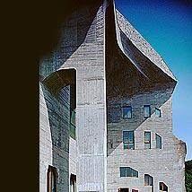 シュタイナー建築/2'nd Goetheanum部分詳細2